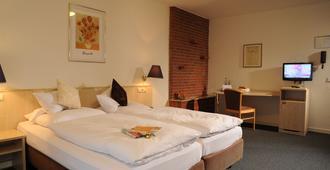Air Hotel Wartburg - דיסלדורף - חדר שינה