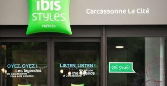 Ibis Styles Carcassonne La Cité - Carcassonne - Pintu Masuk Hotel