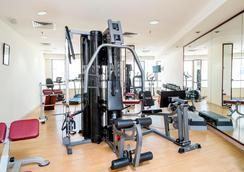 阿爾瓦利德皇庭公寓阿爾巴沙酒店 - 杜拜 - 杜拜 - 健身房