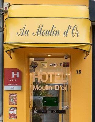 Hôtel Du Moulin D'or - Λιλ - Κτίριο