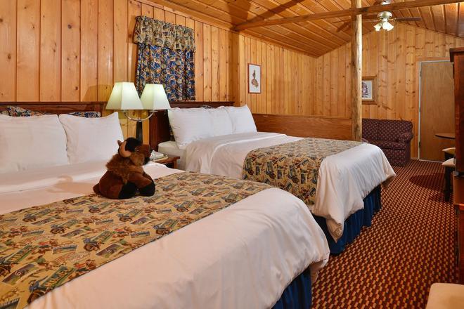 布法羅比爾班村酒店 - 寇迪 - 科迪 - 臥室