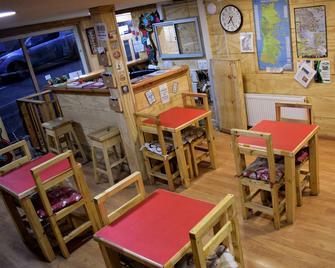 Nomades Chiloe Hostel - Castro - Restaurant