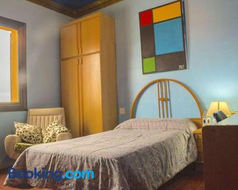 Artistic apartment with panoramic views - Canet de Mar - Bedroom