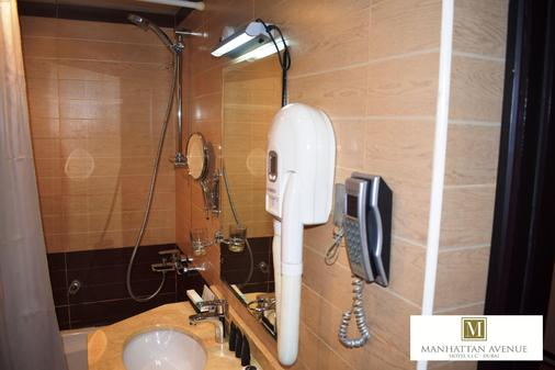 Manhattan Avenue Hotel - Dubai - Bathroom