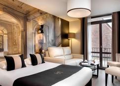 ホテル デ デュック - ディジョン - 寝室
