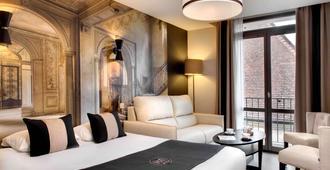 Hôtel des Ducs - דיז'ון - חדר שינה
