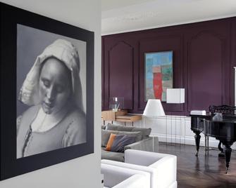 Chateau De La Resle - Montigny-la-Resle - Living room