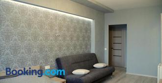 Solo Apartment Dragomanova - Kyiv - Sala de estar
