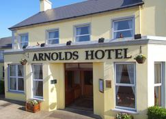 Arnolds Hotel - Dunfanaghy - อาคาร