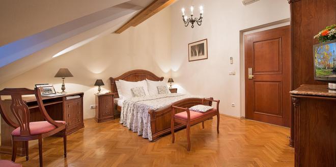孔斯唐精品酒店 - 布拉格 - 布拉格 - 臥室