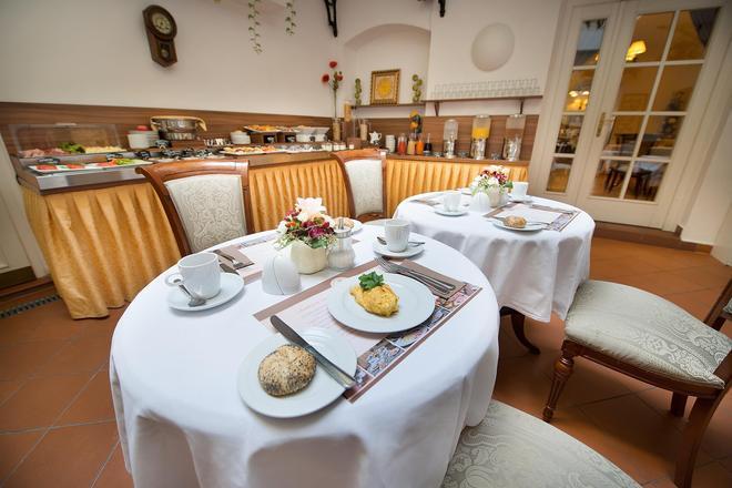 孔斯唐精品酒店 - 布拉格 - 布拉格 - 自助餐
