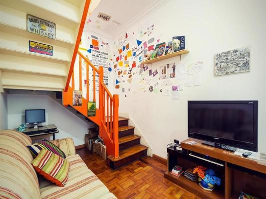 The Connection Hostel - Sao Paulo - Living room