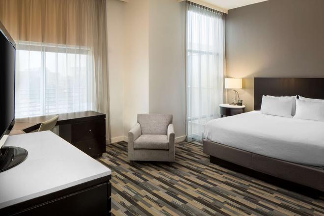 Hyatt House Charlotte Center City - Charlotte - Bedroom