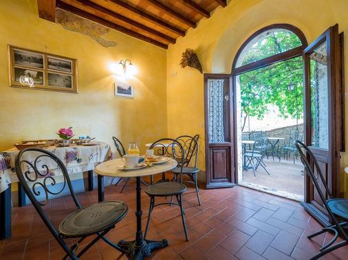 La Fonte Del Cieco - Gaiole In Chianti - Dining room