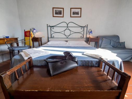 La Fonte Del Cieco - Gaiole In Chianti - Bedroom
