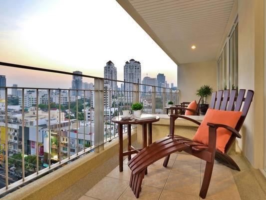 素坤逸通羅中心點酒店 - 曼谷 - 曼谷 - 陽台