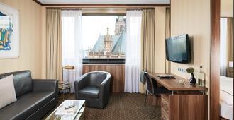 Living Hotel Düsseldorf - Düsseldorf - Reception