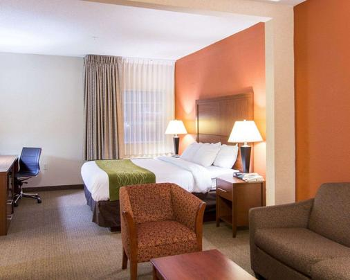 Comfort Inn and Suites Convention Center - North Charleston - Schlafzimmer