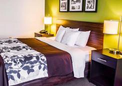 Sleep Inn and Suites Virginia Horse Center - Lexington - Bedroom