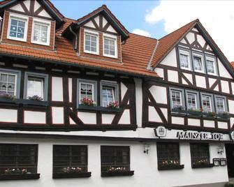 Pension Restaurant Mainzer Tor - Alsfeld - Будівля