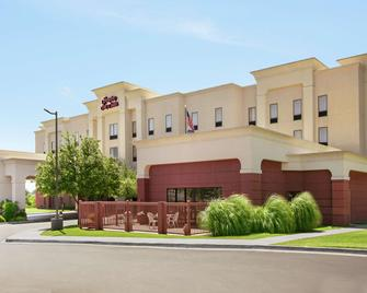 Hampton Inn & Suites Lawton - Lawton - Gebouw
