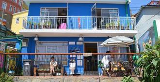 La Casa Azul Hostel - Valparaíso - Edificio