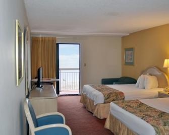 Castaway Beach Inn & Swim Up Bar - North Myrtle Beach - Slaapkamer