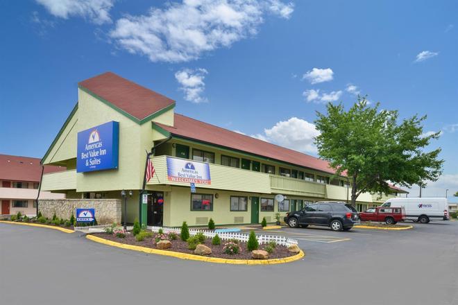 Americas Best Value Inn Kansas City E Independence - Independence - Rakennus