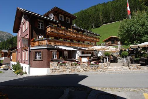 Hotel Ducan - Davos - Toà nhà