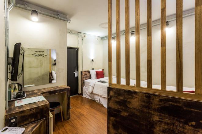工廠飯店 - 首爾 - 臥室