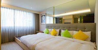 The Crystal Inn Sun Moon Lake - Nantou City - Bedroom