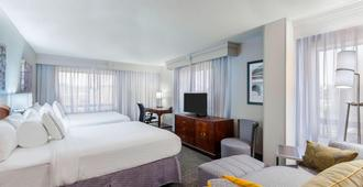 Courtyard by Marriott Chattanooga Downtown - Chattanooga - Bedroom