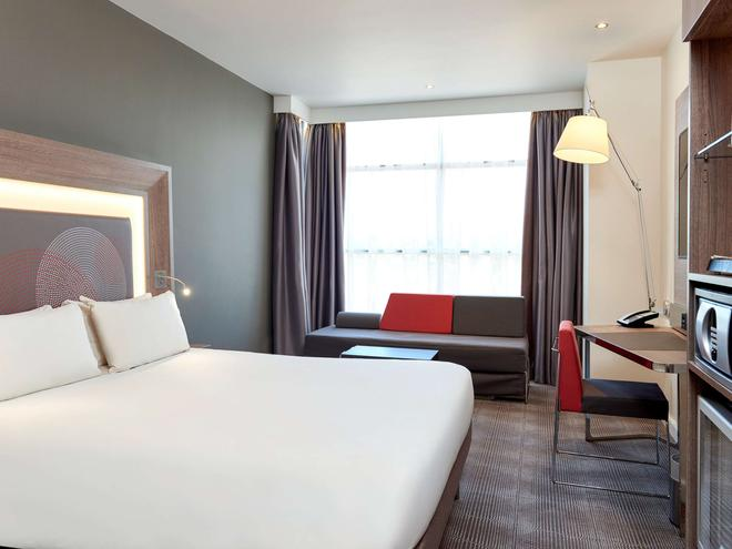 倫敦希思羅機場T1T2和T3諾富特酒店 - 倫敦 - 臥室