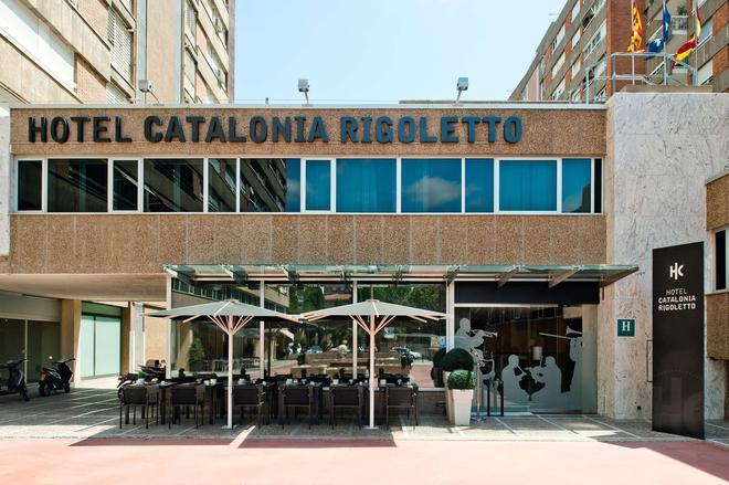 Catalonia Rigoletto - Barcelone - Bâtiment