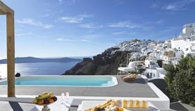 Katikies Chromata Santorini - The Leading Hotels of the World - Imerovigli - Piscine