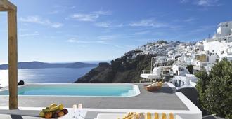 Katikies Chromata Santorini - The Leading Hotels of the World - Imerovigli - Pool