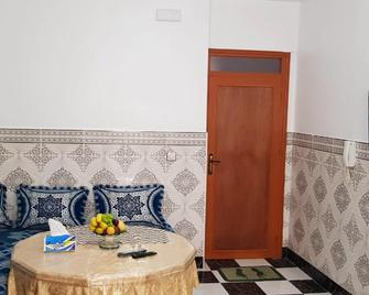 Apartment With 2 Bedrooms In Al Hoceima, With Wonderful City View - 800 M From The Beach - Al Hoceima - Huiskamer