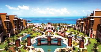 Escape The Winter Blues In Cancun At A 5-Star Resort 2br/3ba Ocean Front Suite - Исла Мухерес - Бассейн
