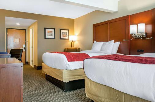 Comfort Inn and Suites Biloxi-DIberville - Biloxi - Κρεβατοκάμαρα