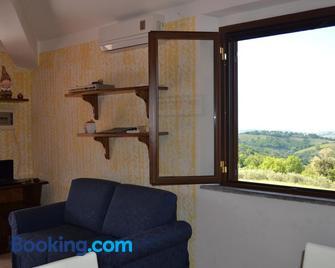 Appartamento panoramico - Scansano - Living room
