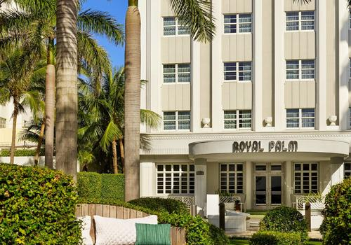 Royal Palm South Beach Miami A Tribute