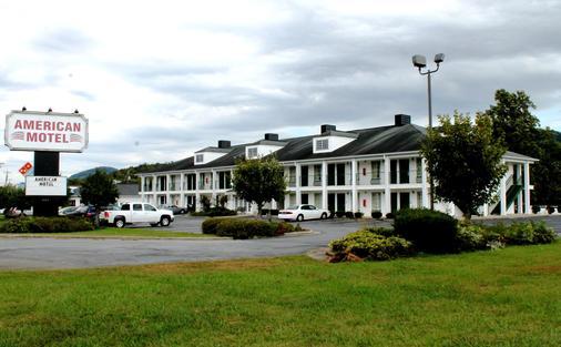 American Motel - Lenoir - Building