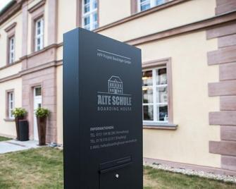 Boardinghouse Neumarkt Alte Schule - Neumarkt in der Oberpfalz - Gebouw
