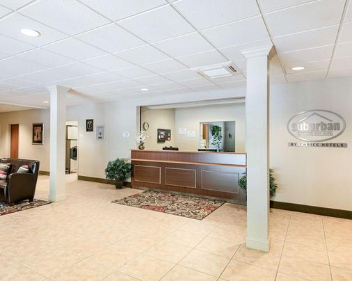 Suburban Extended Stay Hotel - Morgantown - Front desk