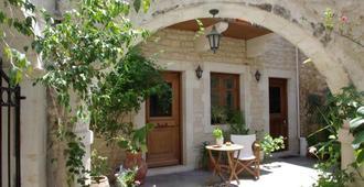Hotel Casa Moazzo - Rethymno - Innenhof
