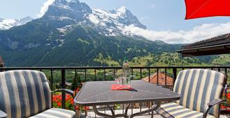 Derby Swiss Quality Hotel - Grindelwald - Balkon