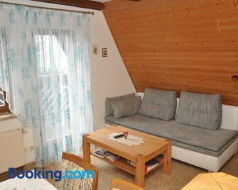 Ferienwohnung Neubert - Wolkenstein - Huiskamer