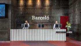 Barceló Málaga - Málaga - Front desk
