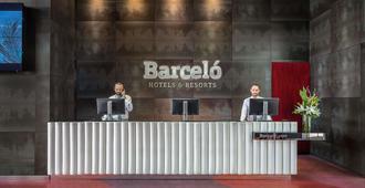 Barceló Málaga - מלאגה - דלפק קבלה