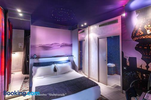 俄波斯斐酒店 - 巴黎 - 巴黎 - 臥室